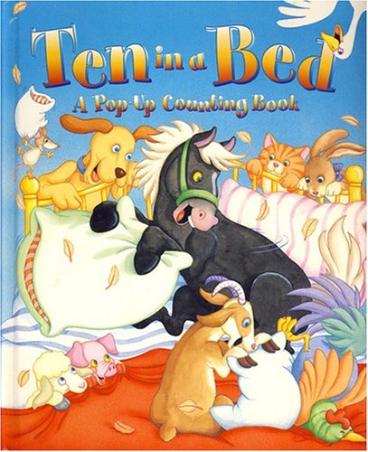 9781593941208: Ten In A Bed (Large Pop-Ups)