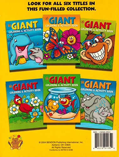 Everyday Giant Coloring & Activity: Bendon