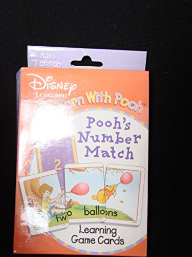 9781593942700: Number Match (Pooh's Learning Game Cards)