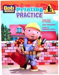 9781593942793: Bob The Builder Workbooks - Printing Practice