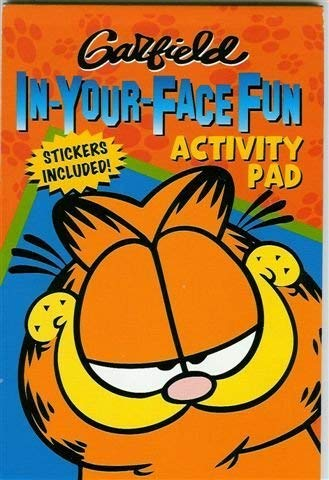 Garfield In-Your-Face Fun Activity Pad