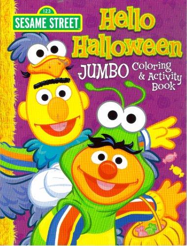 9781593944292: Sesame Street Halloween Jumbo Coloring & Activity Book