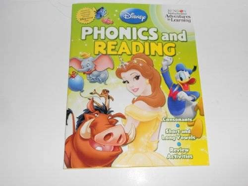 9781593945411: Disney Adventures in Learning Phonics & Reading Workbook (Grade 1)
