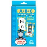 9781593945633: Thomas & Friends A-B-C Learning Cards with Sticker