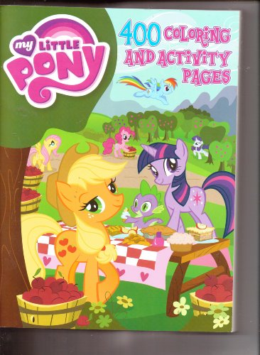 9781593947040: My Little Pony Mammoth Coloring & Activity
