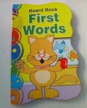 9781593947392: Board Book First Words