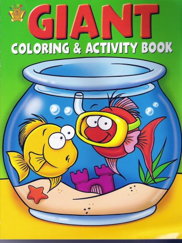 GIANT COLORING & ACTIVITY BOOK by n/a: BENDON PUB INTL 9781593947620 ...