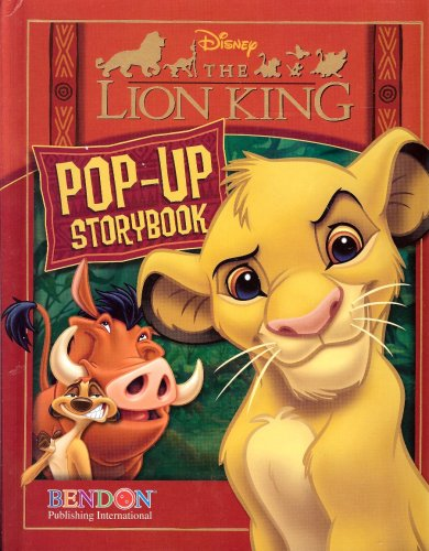 Lion King Pop-up Storybook