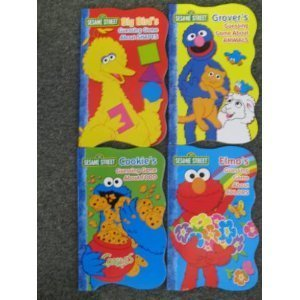 9781593947972: Sesame Street 4 First Board Books: Colors, Shapes, Animals, Food