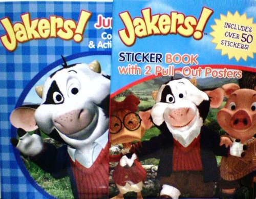 9781593948832: Jakers Jumbo Coloring & Activity Book