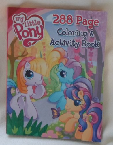 9781593948870: My Little Pony Coloring & Activity