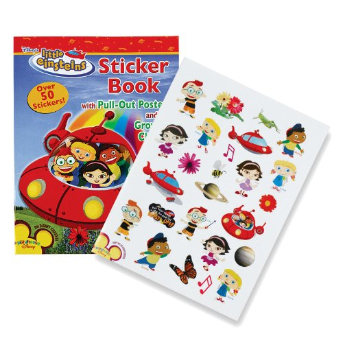 9781593949426: Little Einstein Activity Book w/ Stickers & Poster