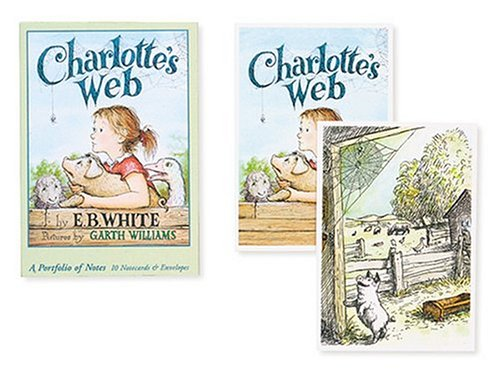 PF58 - Charlotte's Web Notecard Portfolio: White, E. B.