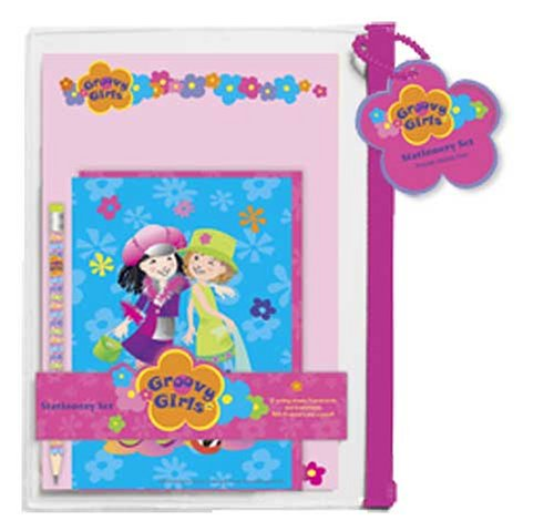 9781593951528: ST9 Groovy Girls Stationery Set