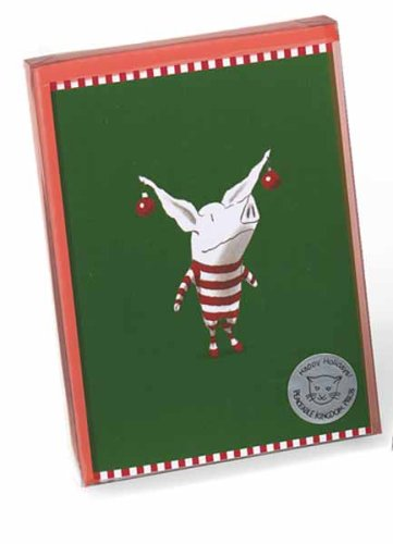 9781593951597: Olivia w/ Ornaments Christmas Cards (3281)