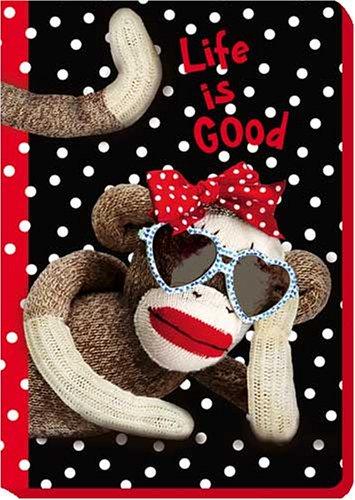 9781593952457: Life is Good -J30 - Sock Monkey Blank Journal