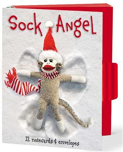 HN16 - Sock Monkey Holiday Notecard Folio: Lindner, Dee