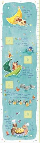 9781593953805: 3851 - Nursery Rhyme Growth Chart