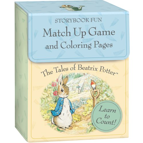 9781593954116: MG9 - The Tales of Beatrix Potter Match Up Game + Coloring Pages (Cards)