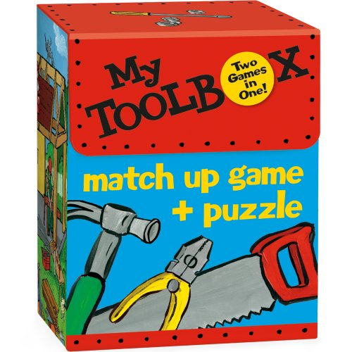 9781593954727: MG11 - My Toolbox Match Up Game + Puzzle (Cards)