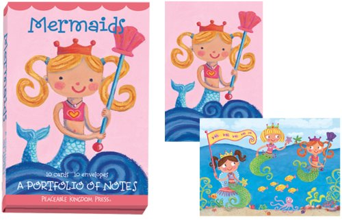 9781593955007: PF86 - Mermaids Portfolio of Notes (Note Cards)