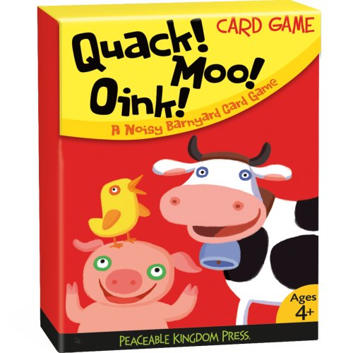 9781593955861: CG7 - Quack! Moo! Oink! Card Game (Cards)