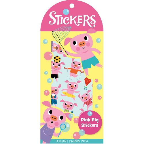 9781593956752: STK64 - Pink Pig Stickers