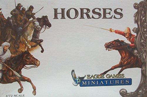 9781593960216: Eagle Games Miniatures: Horses
