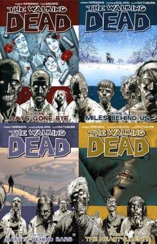 9781593964467: Walking Dead, Vols. 1-4 [Amazon.com Exclusive]