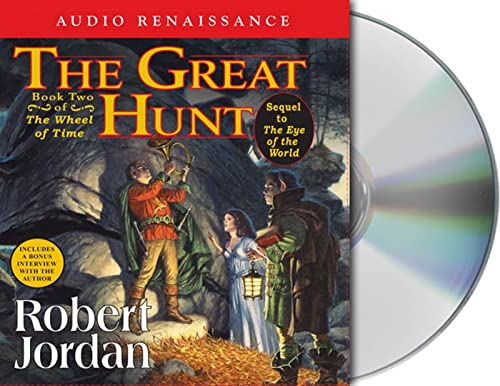The Great Hunt Format: AudioCD: Robert Jordan; Read by Kate Reading and Michael Kramer