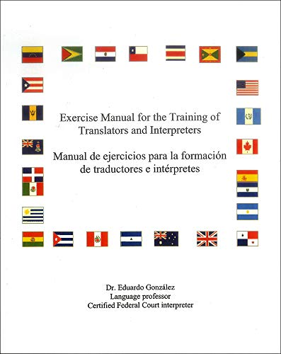 9781593991517: Exercise Manual for the Training of Translators and Interpreters