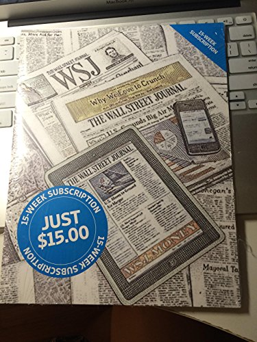 9781593994556: The Wall Street Journal 15-week Student Subscription Package