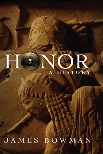 HONOR. a history.