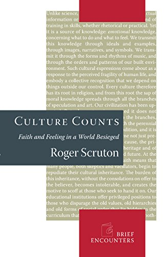 9781594031946: Culture Counts: Faith and Feeling in a World Besieged (Brief Encounters)