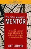 9781594040290: The Sales Manager's Mentor
