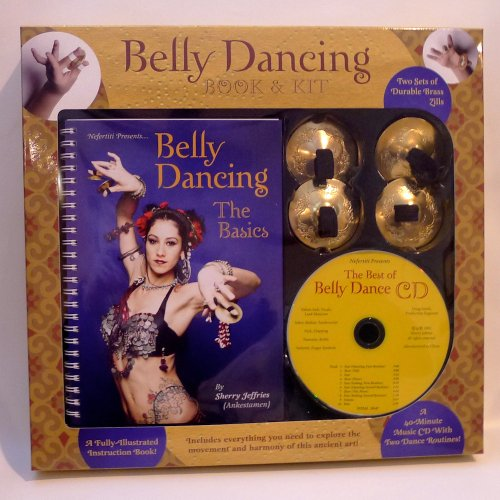 9781594121029: Belly Dancing Book & Kit with Best of Belly Dancing CD and Brass Zills