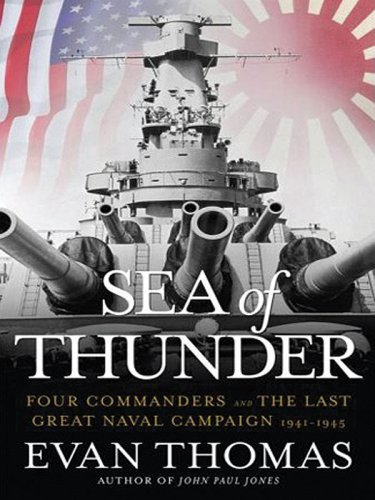 9781594132575: Sea of Thunder: Four Commanders and the Last Great Naval Campaign, 1941-1945 (Large Print Press)