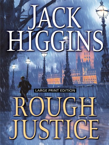 9781594133398: Rough Justice (Large Print Press)
