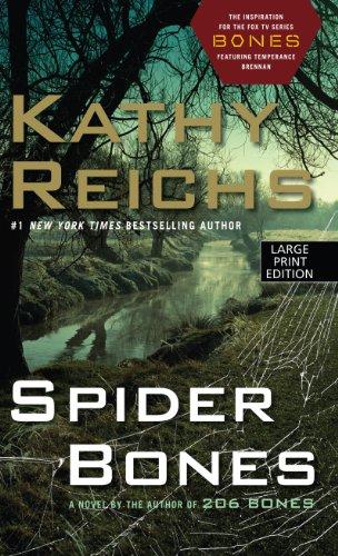 9781594134821: Spider Bones (Wheeler Publishing Large Print Hardcover)