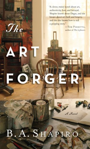 9781594136474: The Art Forger (Thorndike Press Large Print Peer Picks)