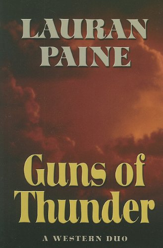 9781594149085: Guns of Thunder: A Western Duo (Five Star Western)