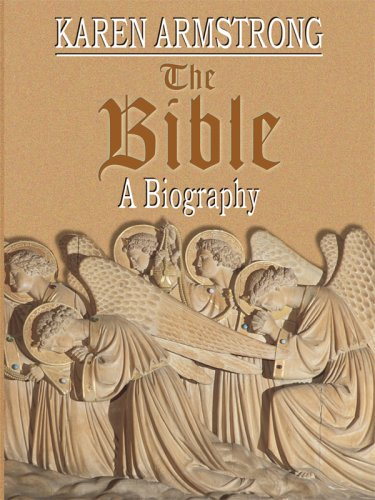 9781594152634: The Bible: The Biography (Christian Large Print Softcover)