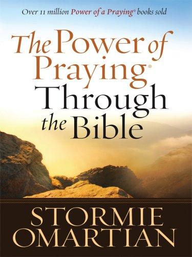 9781594152641: The Power of Praying Through the Bible (Christian Large Print Originals)
