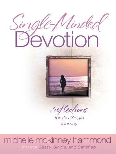 9781594153037: Single-Minded Devotion: Reflections for the Single Journey (Christian Large Print Originals)