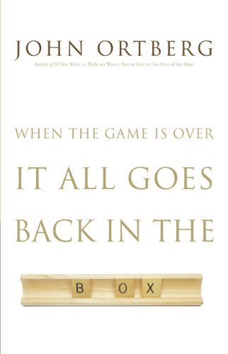 9781594153495: When the Game Is Over, It All Goes Back in the Box