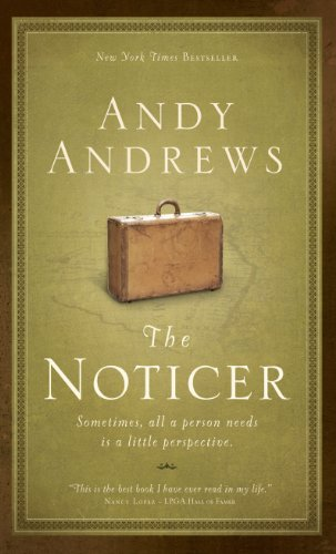 9781594153716: The Noticer: Sometimes, All a Person Needs Is a Little Perspective