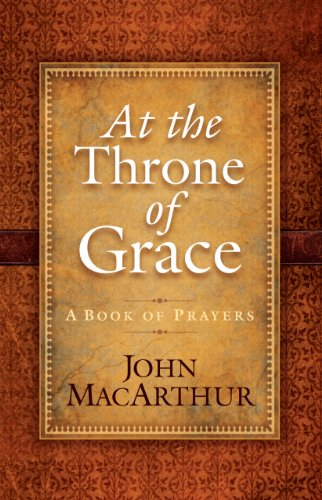 9781594154409: At the Throne of Grace: A Book of Prayers (Christian Large Print Originals)
