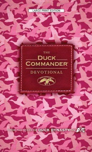 9781594154829: The Duck Commander Devotional: Pink Camo Edition