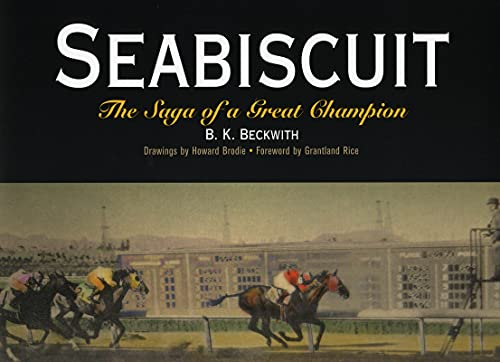 9781594160004: Seabiscuit: The Saga of a Great Champion