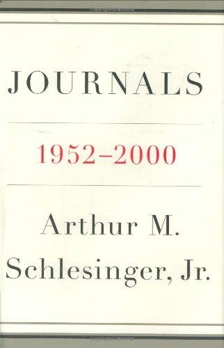 Journals: 1952-2000: Schlesinger, Arthur M. Jr.